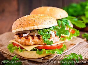 Heart Healthy Asian Turkey Hamburgers