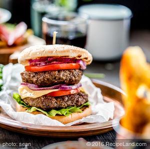 Double Decker Burgers