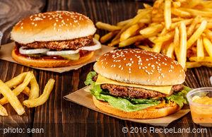 Hamburgers on the Halfshell