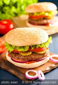 Hamburgers Au Poivre
