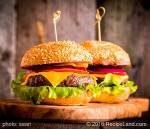 Lamb Cheeseburgers