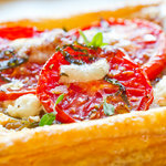 Herbed Goat Cheese and Tomato Tarts