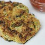 Zucchini Parmesan Pancakes