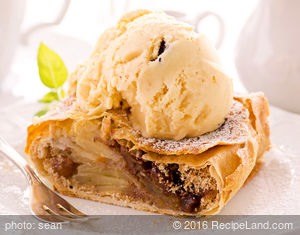 Zesty Apple Strudel