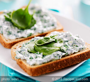 Spinach Scallion Dip