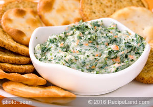 Quick and Easy Spinach Dip