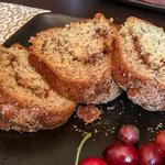 Banana-Sour Cream Coffee Cake