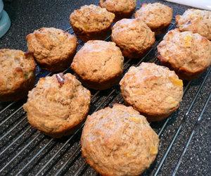 Pear-Pecan Muffins