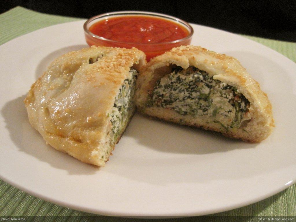 Spinach & Ricotta Calzones
