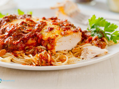Easy Chicken Mozzarella Marinara