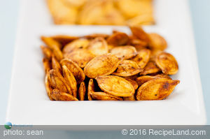 Cajun Toasted Pumpkin Seeds