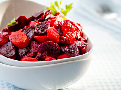 Beets and Carrots with West Indian Spices