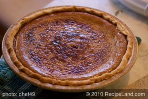 Connie's Pumpkin Pie