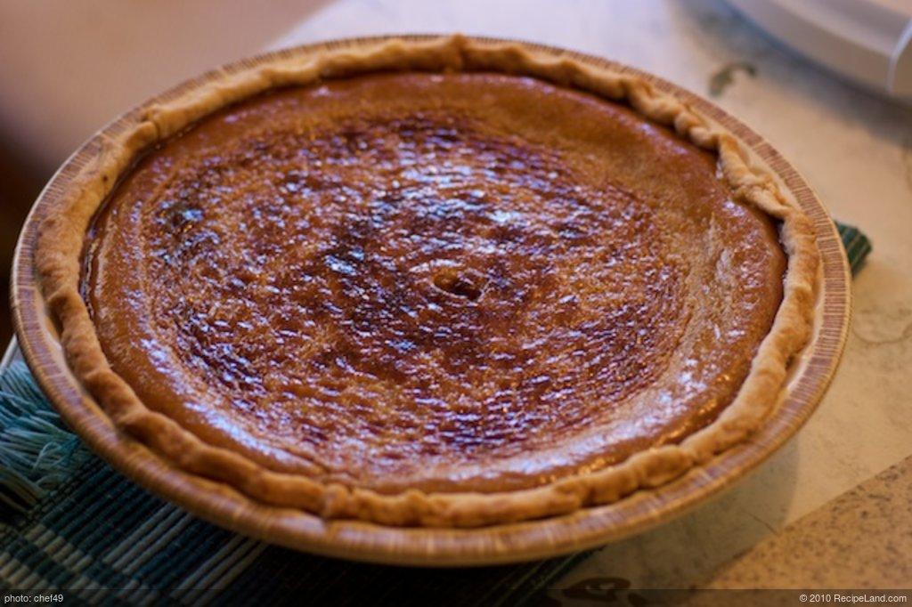 Connie's Pumpkin Pie