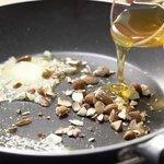Apple Skewers in Almond Caramel