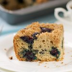 Alaskan Blueberry Coffee Cake