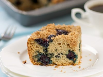 Alaskan Blueberry Coffee Cake