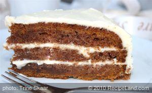 Carrot Puree Cake