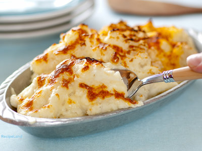 Do-Ahead Party Mashed Potatoes