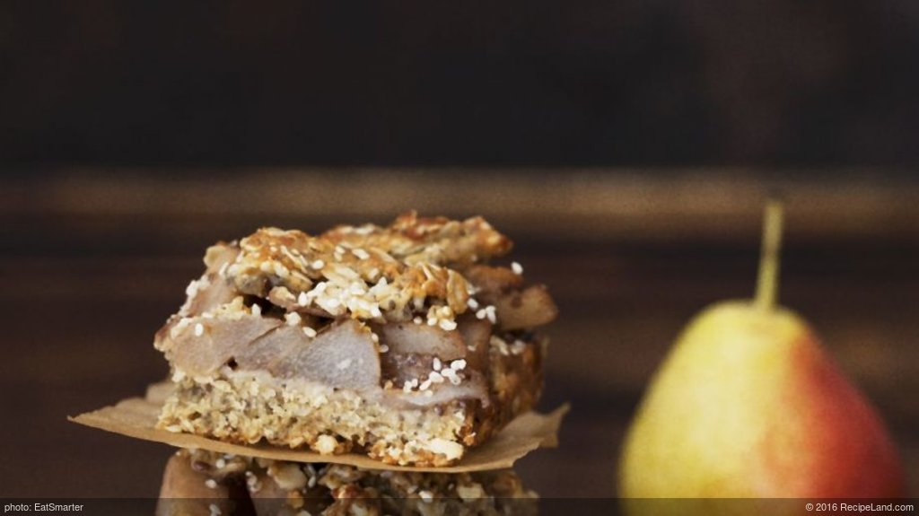 Pear Granola Bars