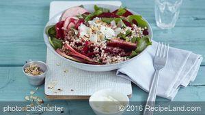 Buckwheat, Beet and Manchego Salads