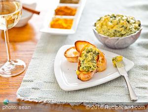Borani Esfanaj (Spinach-Yogurt Salad or Dip)