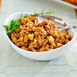 Ultimate Sausage, Apple and Cranberry Turkey Stuffing