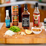 Ingredients for Jack Daniels baked beans