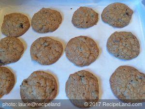 Chocolate Butterscotch Granola Cookies