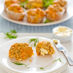 Dilly Cheese Bisquick Muffins