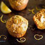 Amazing Lemon Poppyseed Muffins with Lemon Glaze