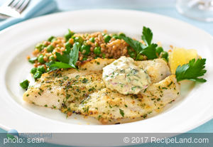 Lemon Baked Dover Sole