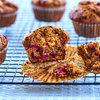 Maple Cranberry-Bran Muffins