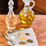 Italian salad dressing from scratch. Quick, easy and tasty. No need to buy store-bought bottled dressing; within 5 minutes you will have this delicious Italian herb dressing that goes well with any kind of salad.
