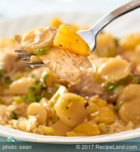 Crock pot Chicken Kowloon