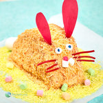 Fun and decorative Easter bunny cakes.