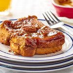 Our best french toast recipe.  Overnight caramel french toast with pecans. Prep the night before and it's ready to pop in the oven in the morning.