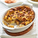 Best bread pudding recipe with a vanilla custard bottom and a lovely rich whiskey sauce for serving. Decadent and utterly delicious. Turns stale bread into true comfort food.