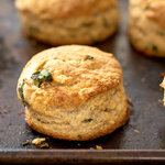 They were super easy to make, tasted buttery, cheesy, fluffy and flaky, with the aroma from the basil as they bake in the oven. They can be served pretty much with any main courses, or just eating them directly is yummy enough!