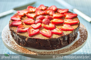 Passover Chocolate Mandarin Torte