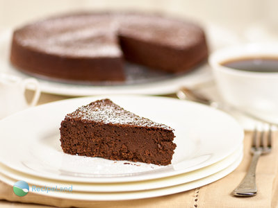 Chocolate Mocha Mousse Passover Cake