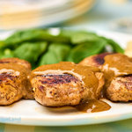 Juicy tender pork medallions served with classic French steak Diane sauce for pork tenderloin. This quick and easy pork tenderloin recipe is ready in about 15 minutes flat.