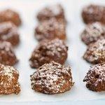 Chocolate, Coconut and Pecan Meringue Bites