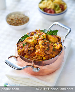 Italian Lentil Tortellini Soup