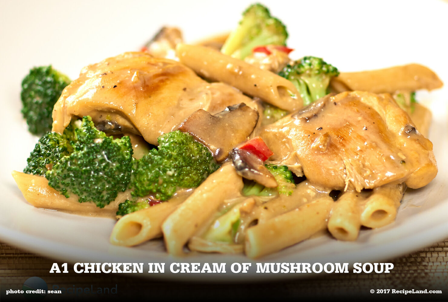 A1 Chicken in Cream of Mushroom Soup