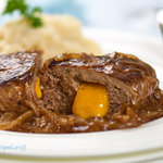 Our favorite easy salisbury steak and onions recipe. We always make enough extra gravy to serve over potatoes. So delish, it tastes like it took me day to cook!