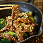 Asian inspired beef that's loaded with flavor.