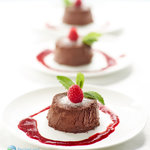 A very chocolatey raspberry easy chocolate mousse recipe. A simple dark chocolate mousse that uses just 3 ingredients and is unbelievably smooth, rich and decadent.