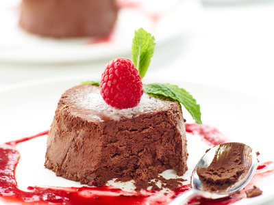 Easy Chocolate Raspberry Mousse