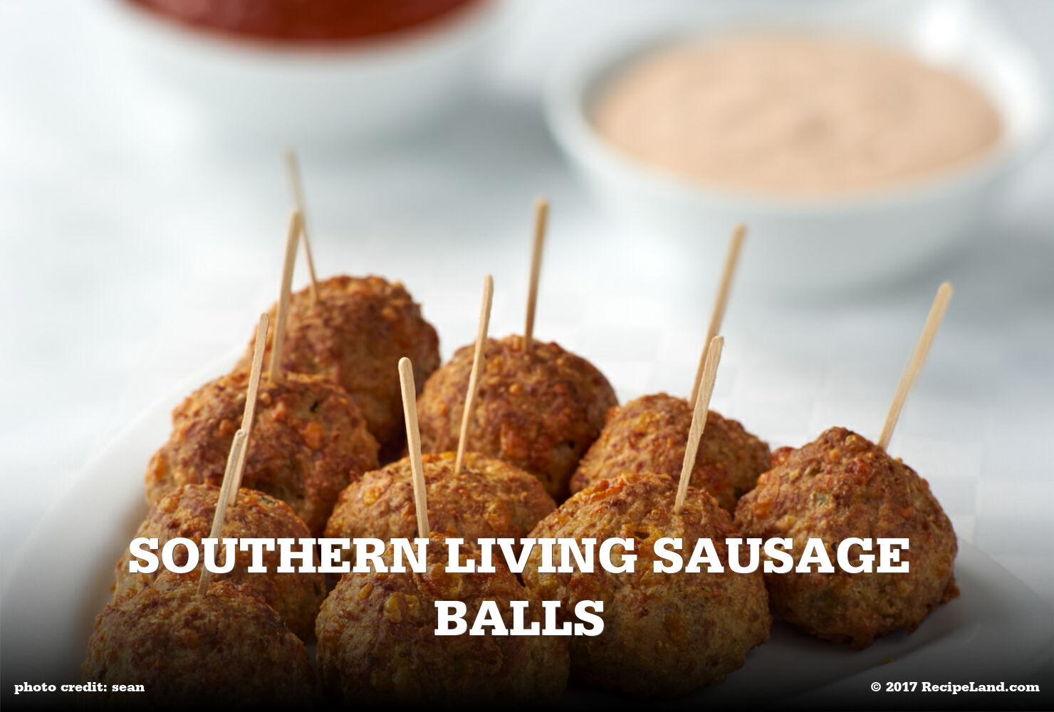 Southern Living Sausage Balls